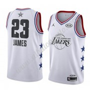 Camisetas NBA Baratas Los Angeles Lakers 2019 Lebron James 23# Blanco All Star Game Swingman..